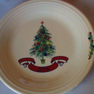 Fiesta Homer Laughlin 2015 Christmas Tree Plate